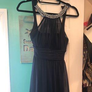 Short party dress.